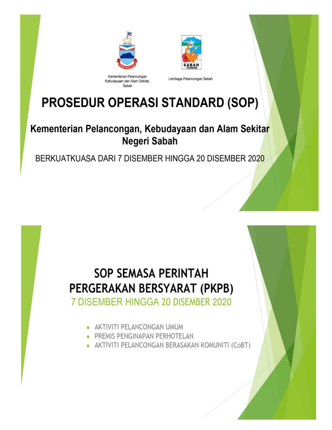 Prosedur Operasi Standard (SOP)